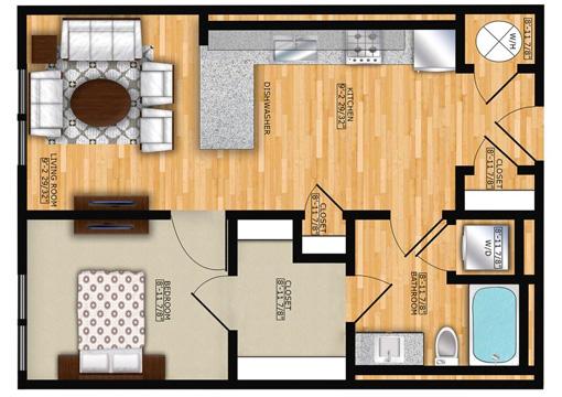 Edge A1 Floor Plan