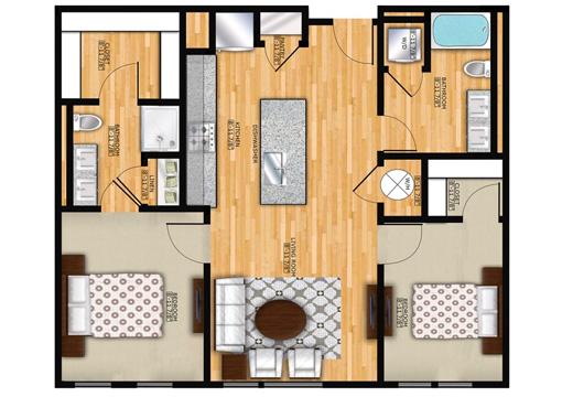 Edge B1 Floor Plan