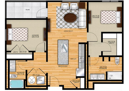 Edge B2 Floor Plan