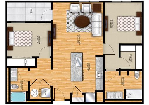 Edge B2 Pantry Floor Plan