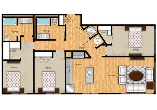 Edge C1 Floor Plan